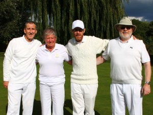 The Two Woods Pairs winners and runners up