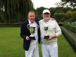 The Mens Championship winner and runner up